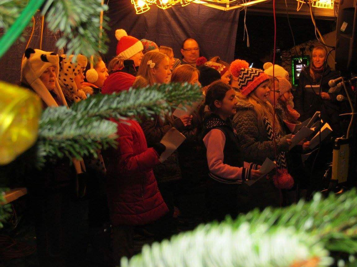 Christmas Tree Lights Switch On Event: In Pictures